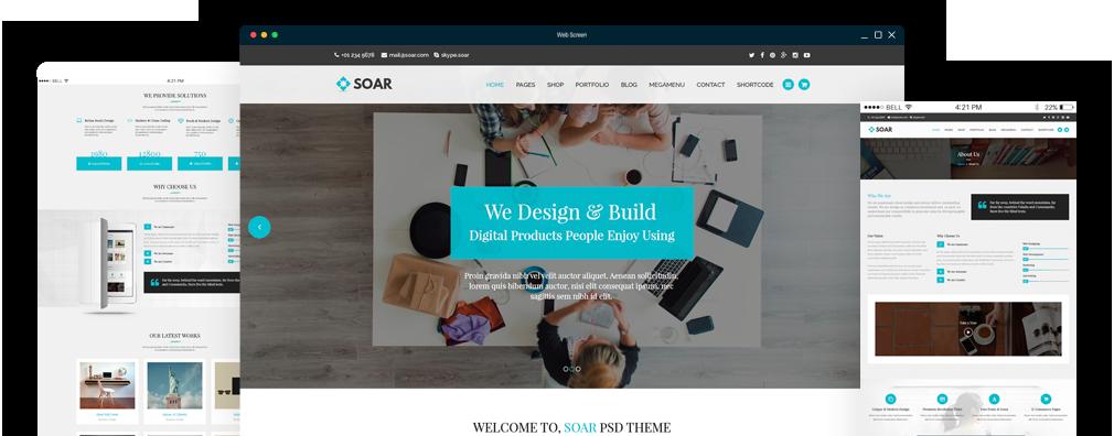 Soar Responsive Multi-Purpose WordPress Theme